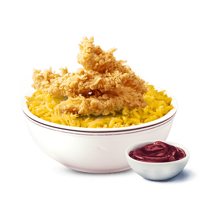 Crispy Strips Rice Meal