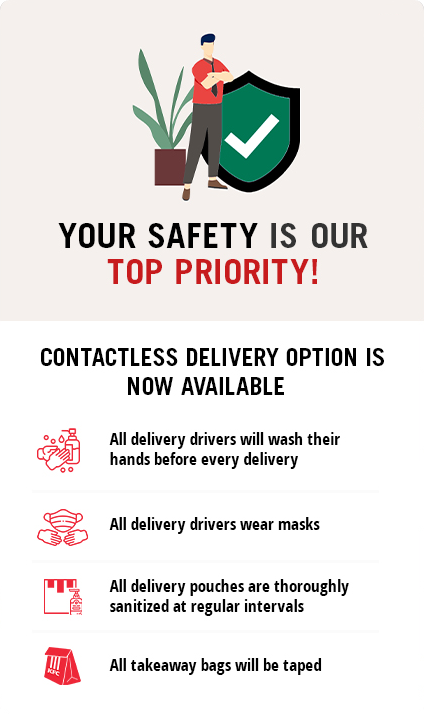 KFC Egypt - Your safety is our top priority. Contactless delivery available.