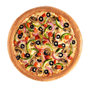 test, Pizza Hut, Vegetarian