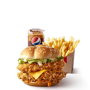 For One,KFC,Mighty Zinger Combo