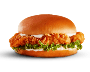 Sandwich, Value, Hardees, Chicken Tenders Sandwich