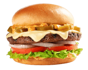 Sandwich, Angus Thickburgers, Hardees, Jalapeno Angus Thickburger ®