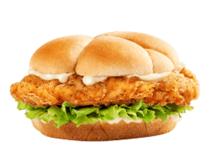 Sandwich, Chicken, Hardees, ساندوتش تشيكن فيليه