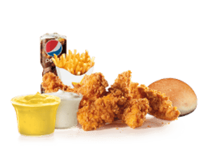 Combo, Chicken, Hardees, Mighty Tenders