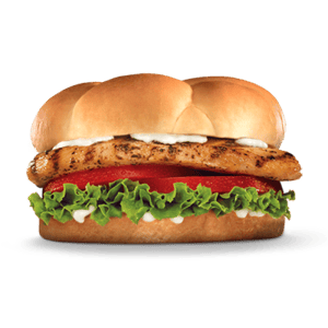 Sandwich, Chicken, Hardees, Grilled Chicken Fillet