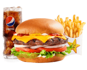 Combo, Angus Thickburgers, Hardees, ستار أنجوس ثيك برجر®️ كومبو