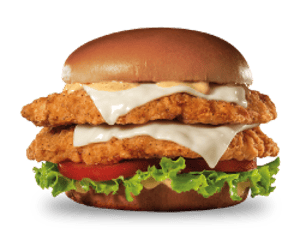 Sandwich, Chicken, Hardees, Super Star Chicken Fillet Sandwich