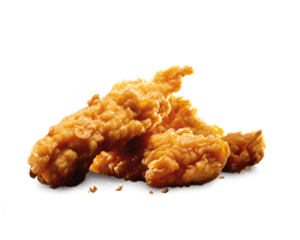Combo, Chicken, Hardees, Little Tender (3 Pc Spicy)