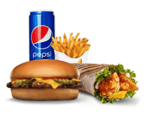 Combo, Deals, Hardees, تشيكن و برجر ديو