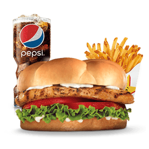 Combo, Chicken, Hardees, دجاج مشوي وجبة