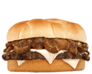 Sandwich, Chargrilled Burgers, Hardees, مشروم اند سويس ساندويتش