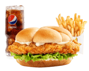 Combo, Chicken, Hardees, Chicken Fillet Sandwich Combo