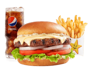 Combo, Angus Burgers, Hardees, Classic Angus Thickburger ® Combo