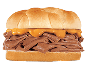 Sandwich, Chargrilled Burgers, Hardees, Roast Beef and Cheddar
